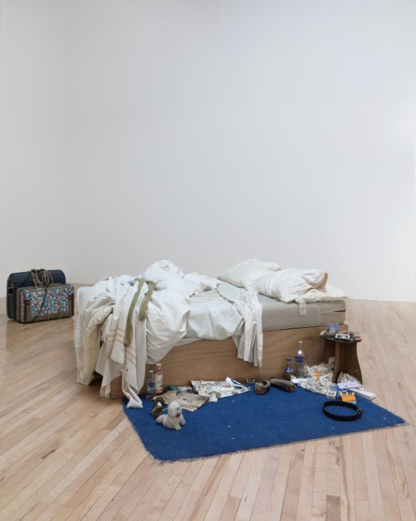 My Bed 1998 by Tracey Emin born 1963