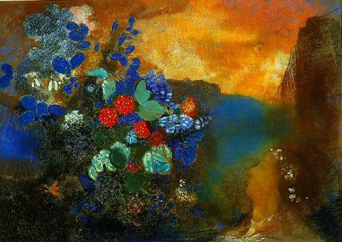 odilon_redon-ophelia_among_the_flowers_1905-1908