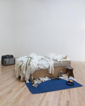 My Bed 1998 Tracey Emin born 1963 Lent by The Duerckheim Collection 2015 http://www.tate.org.uk/art/work/L03662