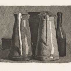 morandistill life with five objects 1956